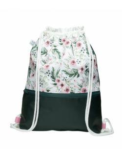 Plecak worek dla dorosłych Różyczki2