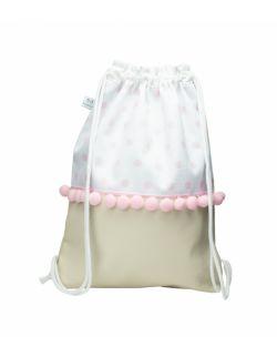 Plecak worek dla dorosłych Kropeczki