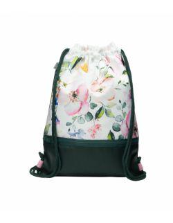 Plecak worek dla młodzieży Kwiaty