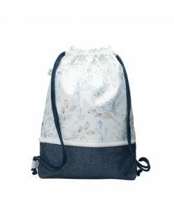 Plecak worek dla młodzieży Listki
