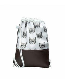 Plecak worek dla młodzieży Kotki