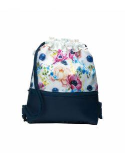 Plecak Worek dla najmłodszych Kwiaty