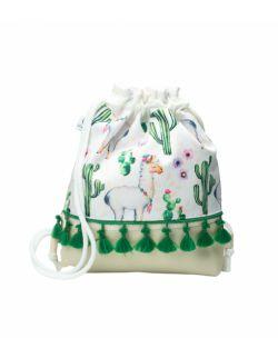 Plecak Worek dla najmłodszych Lama z frędzelkami