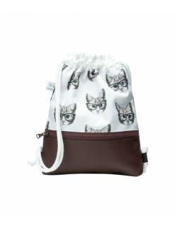 Plecak Worek dla najmłodszych Kotki
