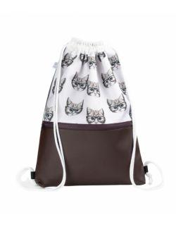 Plecak worek dla dorosłych Kotki