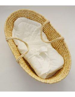 Rożek niemowlęcy muślin Ecru