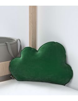 Poduszka Soft Cloud Velvet Butelkowa Zieleń