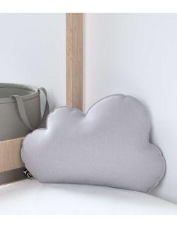 Poduszka Soft Cloud Velvet Srebrzysty Szary