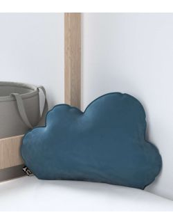 Poduszka Soft Cloud Velvet Pruski Błękit