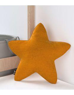 Poduszka Lucky Star Velvet Miodowa