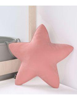 Poduszka Lucky Star Velvet Zgaszony Koral
