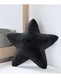 Poduszka Lucky Star Velvet Głęboka Czerń