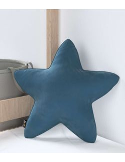 Poduszka Lucky Star Velvet Pruski Błękit
