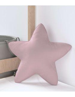 Poduszka Lucky Star Velvet Zgaszony Róż
