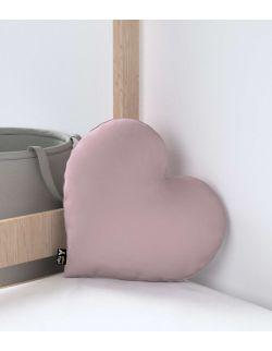 Poduszka Heart of Love Velvet Zgaszony Róż