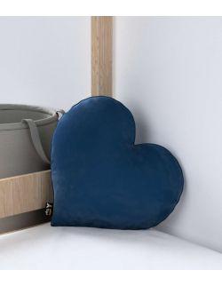 Poduszka Heart of Love Velvet Granat