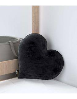 Poduszka Heart of Love Velvet Głęboka Czerń