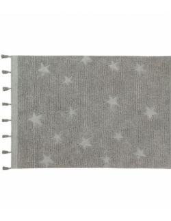 Dywan Bawełniany Hippy Stars Grey 120x175 cm Lorena Canals