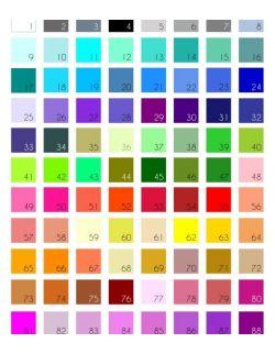 Tablica kolorów