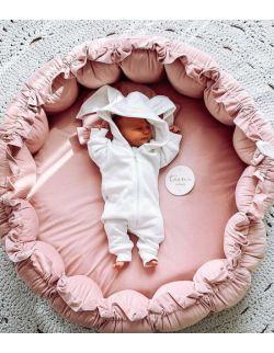 Gniazdo niemowlęce NIDO - brudny róż