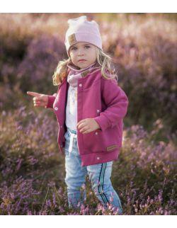 Kurtka dziecięca- ciemny róż