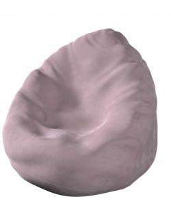 Worek do siedzenia Bowli Velvet Zgaszony Róż