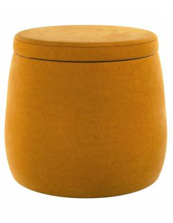 Puf Candy Jar Velvet Miodowy