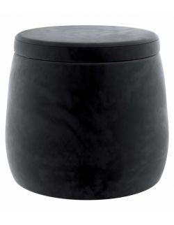 Puf Candy Jar Velvet Głęboka Czerń