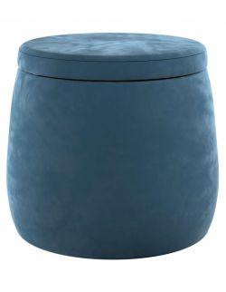 Puf Candy Jar Velvet Pruski Błękit