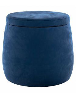 Puf Candy Jar Velvet Granat