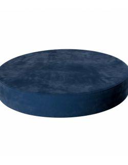 Puf Velvet Dot Granat