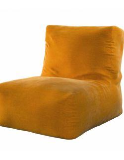 Pufo- fotel Poppy Miodowy