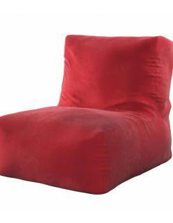 Pufo- fotel Poppy Intensywna Czerwień