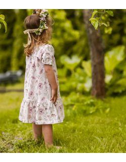 Sukienka Zofia z krótkim rękawem
