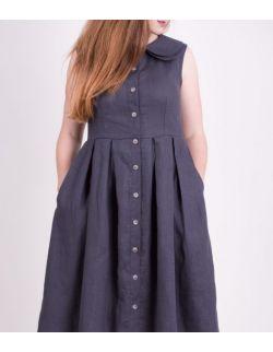 Sukienka dla mamy GREY LINEN