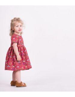 Sukienka dla córki RASPBERRY PINK