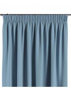 Zasłona na taśmie niebieski 140×260 1 szt