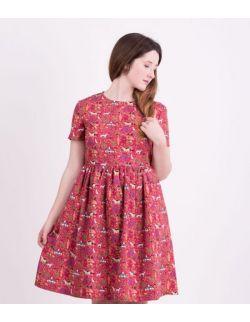 Sukienka dla mamy RASPBERRY PINK