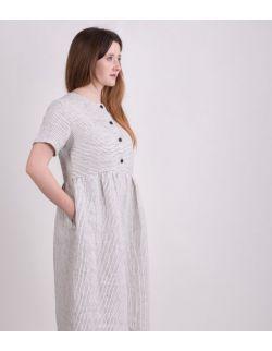Sukienka dla mamy STRIPED LINEN