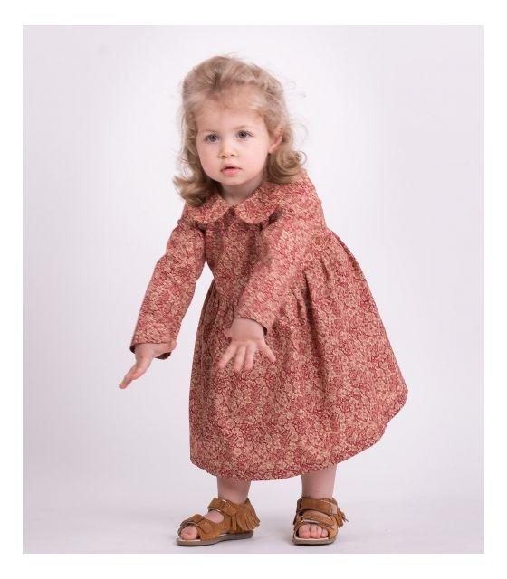 Sukienka dla córki VINTAGE RED