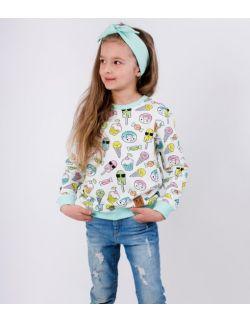 Bluza dziecięca z oryginalnym nadrukiem