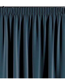 Zasłona na taśmie pruski błękit 130×260 1 szt