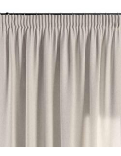 Zasłona na taśmie szaro-beżowy 130×260 1 szt