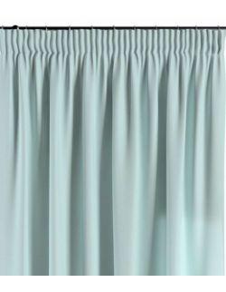 Zasłona na taśmie pastelowy błękit 130×260 1 szt