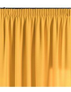 Zasłona na taśmie słoneczny żółty 130×260 1 szt