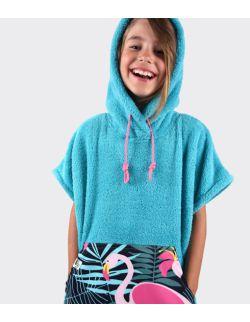 Szlafrok / poncho, wiek: 7-12 lat ( turkus_flaming Youth Hug)