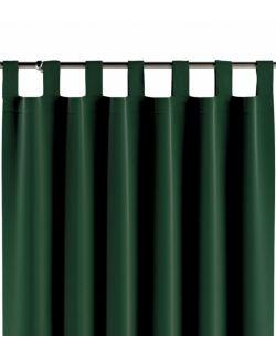 Zasłona na szelkach Velvet zieleń 130x260cm