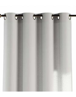 Zasłona na kółkach Ciepły Biały 130x260cm