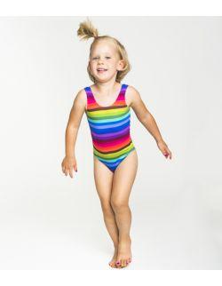 Kostium, strój jednoczęściowy dla dziewczynki Poppy Rainbow