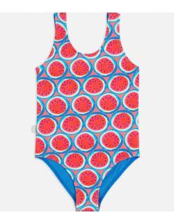 Kostium, strój jednoczęściowy dla dziewczynki Poppy Watermelon
